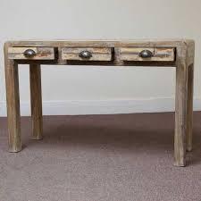 Retro Console Table Retro Rustic Console Jugs Indian Furniture And Accessories