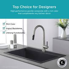 kitchen sink installation granite kitchen sinks kraususa com