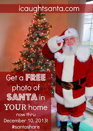 free photo of santa by your christmas tree icaughtsanta