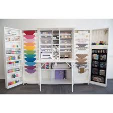 Arts And Crafts Storage Cabinet by Teresa Collins The Original Scrapbox Studio Box Overstock