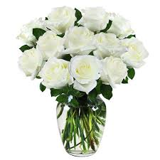 stem roses white 1 dozen stem roses flowers expo florist of riverside