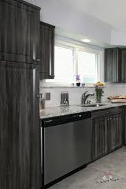 grey finish kitchen cabinets this kitchen features cabinets in our exquisite merapi color