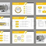 company presentation template set of presentation templatee in