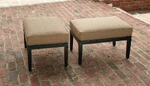 Outdoor Wicker Chair With Ottoman Outdoor Ottomans Patio Ottomans Sears