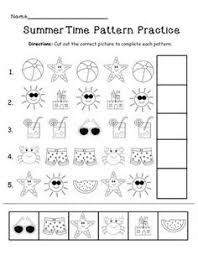 pattern practice games this activity is a part of my summer fun activity packreview