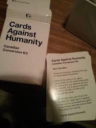cards against humanity canadian conversion kit by admagic inc