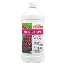 All Natural Flower Food Shop Alaska Morbloom 1 Quart Flower Food At Lowes Com