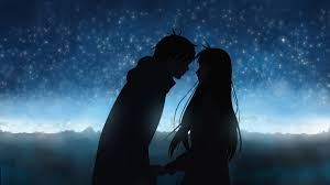 wallpaper of couple cute anime couple wallpaper 70 images