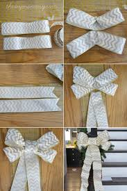 big bow for car present make diy wired ribbon bows for christmas christmas