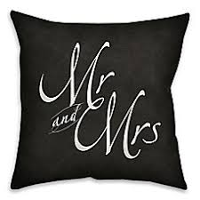 mr and mrs pillow mr and mrs pillows bed bath beyond