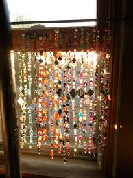 room divider beads sun catcher beaded curtain memories of the bead and mirror