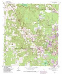 United States Topographical Map by Gainesville West Topographic Map Fl Usgs Topo Quad 29082f4