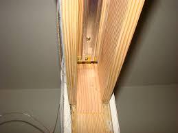 diy door frame pocket door installation in existing wall