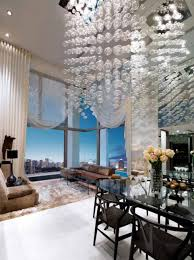 Living Room With High Ceiling by Living Room High Ceiling Decorating Living Room With Modern