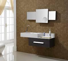 White Modern Bathroom Vanities Decor Modern Bathroom Vanity Cabinets Double Kitchen Sink In Vogue