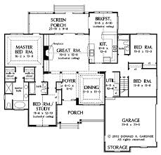 baby nursery single story open concept house plans one level