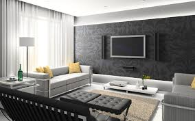 black and white interior home design ideas