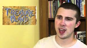 treasure island book report robert louis stevenson treasure island book review youtube