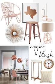 copper decor accents copper blush accents the lv guide for the home pinterest