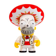 amazon com kidrobot the simpsons homer day of the dead mariachi