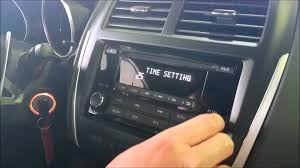 how to change the time on your mitsubishi youtube