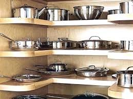 kitchen storage ideas for pots and pans simplistic kitchen pots and pans storage organizer pan cabinet