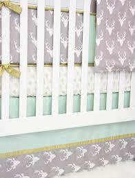 Deer Nursery Decor Nursery Beddings Modern Woodland Crib Bedding With Fawn Nursery