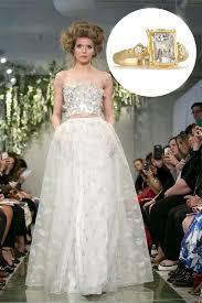 alternative wedding dress crop top the alternative wedding dresses trend of the season