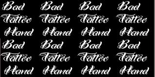 25 stunning tattoo fonts