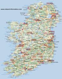 Map Of Ireland And England Travel In Britain And Ireland
