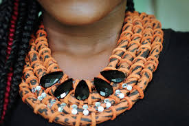 chain rope necklace diy images Diy african rope necklace rhul d version jpg