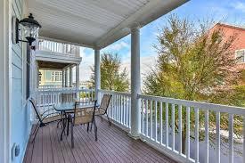 Second Floor Balcony Sunset Island 57 Sunset Island Rentals By Shoreline Properties