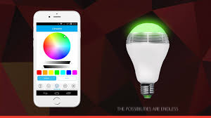 Bluetooth Light Bulb Speaker Conceptronic Smart Wireless Bluetooth Light Bulb Speaker Youtube