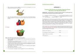 kitchen manual template kitchen garden manual