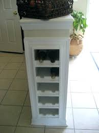 13 free diy wine rack plans you can build today white cabinet a
