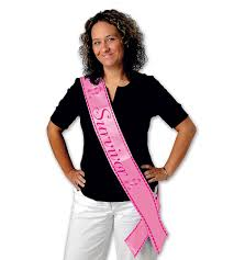 satin sash cancer survivor pink satin sash