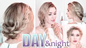 Hairstyles Easy And Quick by Day To Night Hairstyles Braided Prom Updo Quick Easy And