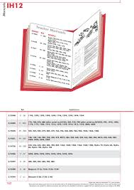 case ih catalogue body panels decals u0026 paint page 168 sparex