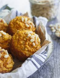 Muffins For Thanksgiving Toasted Pine Nut Herb Pumpkin Muffins