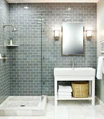 glass subway tile bathroom ideas glass bathroom tile irrr info
