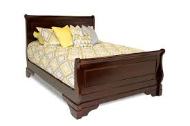 the versailles queen bed in merlot mor furniture for less