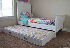 How To Build A Twin Platform Bed With Drawers by Simple Twin Bed Trundle Her Tool Belt