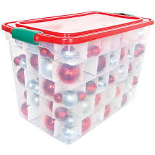 christmas ornament storage box homz christmas ornament storage box