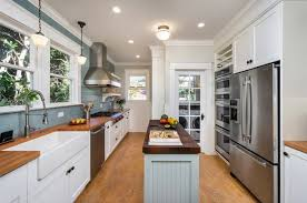 ideas for narrow kitchens plain design narrow kitchen ideas houzz kitchen dining room ideas