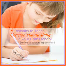 4th Grade Cursive Writing Worksheets Reasons To Teach Cursive Handwriting In Your Homeschool And The