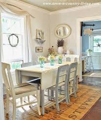 Best Country Cottage Decor Images On Pinterest Cottage Living - Country dining room decor