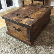Rustic Chest Coffee Table Handmade Rustic Style Chest Coffee Table By Hshirerustic