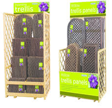 gardman willow trellis garden wall trellis plant supports u0026 arches