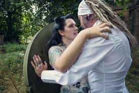 corpse wedding see the pictures of birmingham s corpse wedding