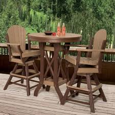 outdoor pub tables incredible amish made patio bar sets pinecraft